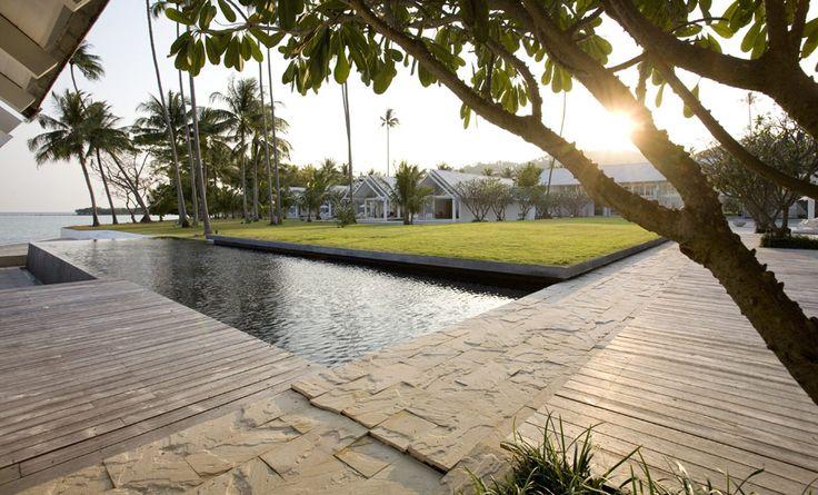 Heavenly Retreat   Koh Samui - Pool und tropischer Garten