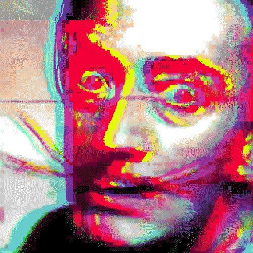 #GustavoFajardo Artista que se expresa a través de la tecnología con gifs animados. #VizorArt   www.vizormobil.com