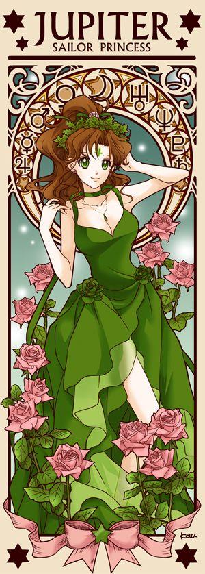 Princess Sailor Jupiter by Tsuki-kioku. Sailor Moon