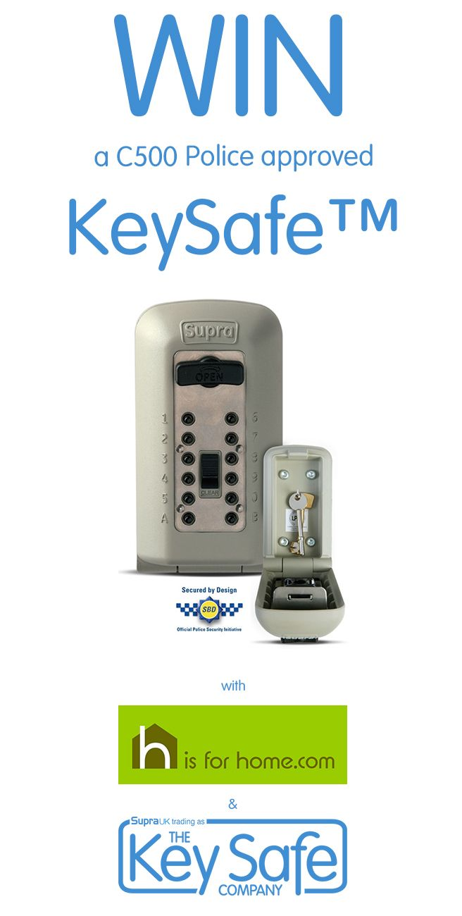 #Win a Key Safe Company outdoor key safe with @hisforhome Click on the link to enter☛ http://4ho.me/KySafe #competition #competitions #giveaway #HomeSecurity #security #safe #safety #contest #ukgiveaway #prize #prizes #winner #freebies #ukcompetition