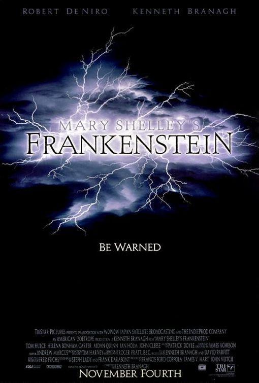Frankenstein de Mary Shelley (1994) EEUU. Dir: Kenneth Branagh. Terror. Fantático. Drama. Romance - DVD CINE 1219