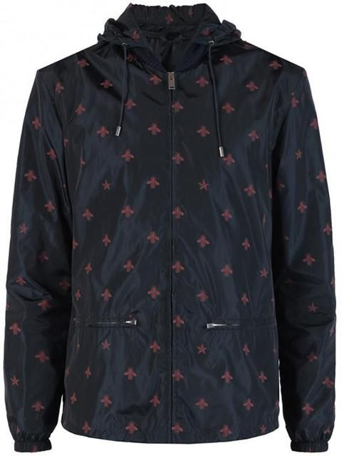 223d171bf GUCCI wasp print windbreaker jacket. #gucci #cloth #jacket | Gucci Men |  Jackets, Windbreaker jacket, Windbreaker
