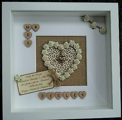 Personalised Rustic Wedding, Anniversary,Engagement, Scrabble tile Frame Mr/Mrs