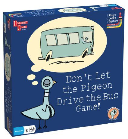Don't Let the Pigeon Drive the Bus Game! - Uh-oh! The Pigeon wants to drive YOUR bus and it's up to you to stop him.