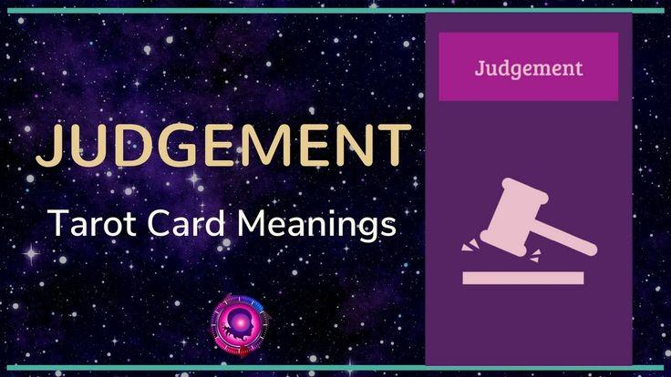 Judgement Tarot Card Meanings
