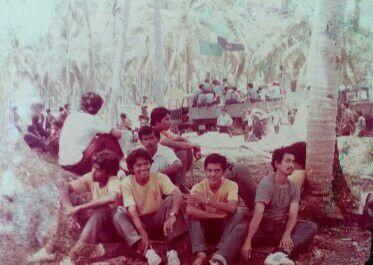 Scouts Leadership Course in Labuan Island near Sabah.