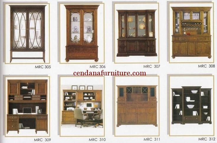 Katalog Almari Jati Minimalis MRC berisi gambar dan kode produk dengan desain minimalis yang memudahkan anda dalam memilih furniture yang diinginkan.