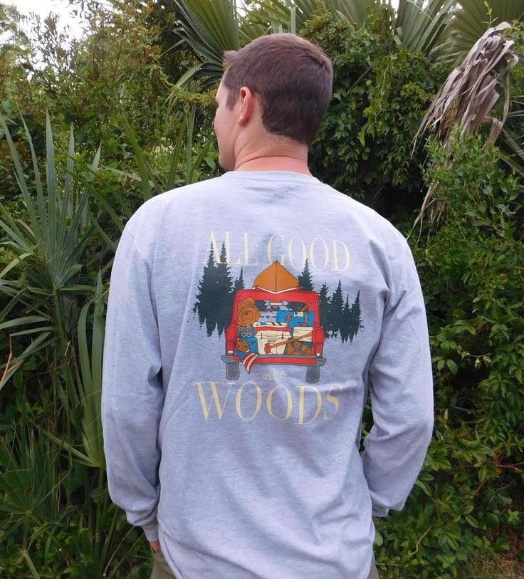 'All Good in the Woods' Long Sleeve Tee – United