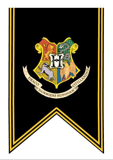 Universal image in hogwarts banner printable
