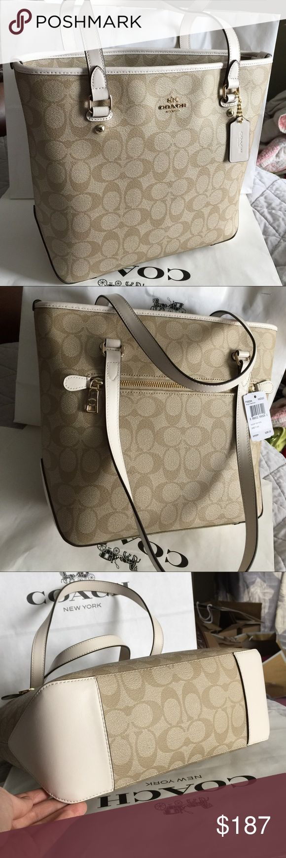 🍀Coach Bag🍀 100% Authentic Coach Tote Bag, brand new with tag!.😍😍😍 Coach Bags Totes