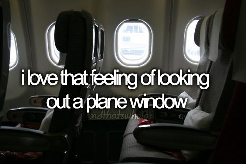 purposefully get a window seat every time :)