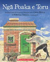 Maori edition of the three little pigs who leave home to seek their fortune and how they deal with the big bad wolf.  Re-released.