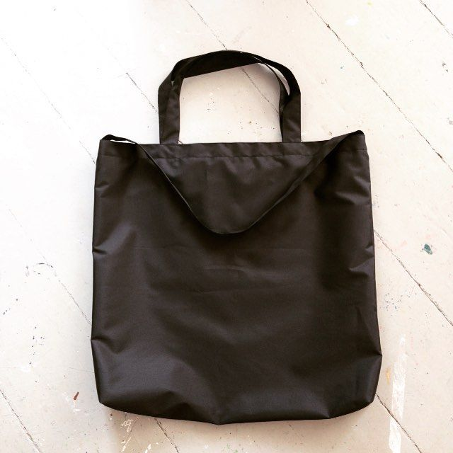 Jumbo casual minimalistic black waterproof bag - f/w season 2016/17 soon available! #etsy #blackbag #waterproof #oversized #fashion #fashionbag #fashionable #fashionista #minimalist #minimalism #streetwear #dawanda #streetstyle #casual #handmade #quality
