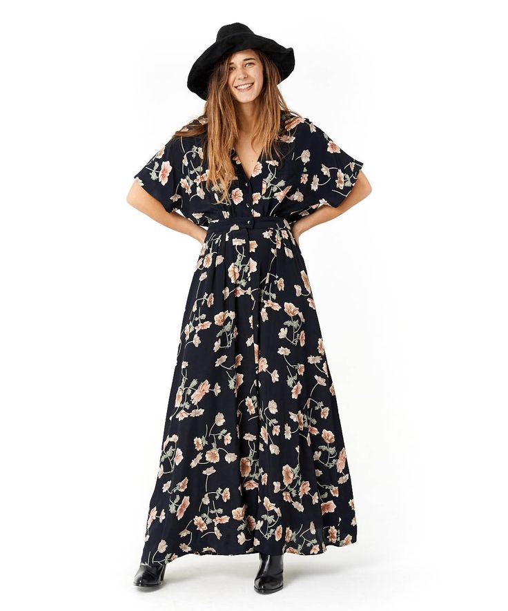 The Lottie Dress (Navy Floral) | CHRISTY DAWN