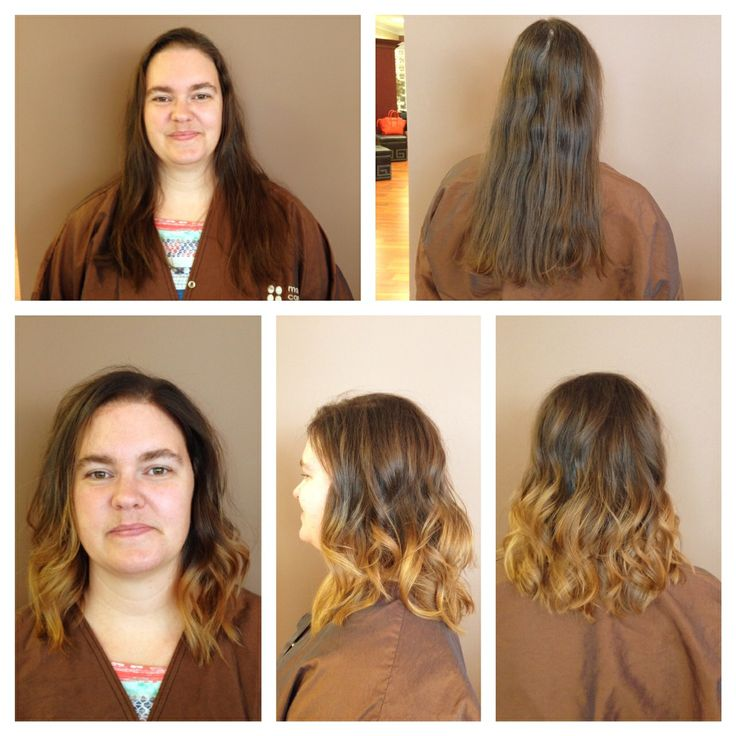 Ombre: Going brown to blonde #ombre #highlights #fashion #hair #haircolor #daniellemcreynolds #hairtrends @modernconceptssalon  By Danielle
