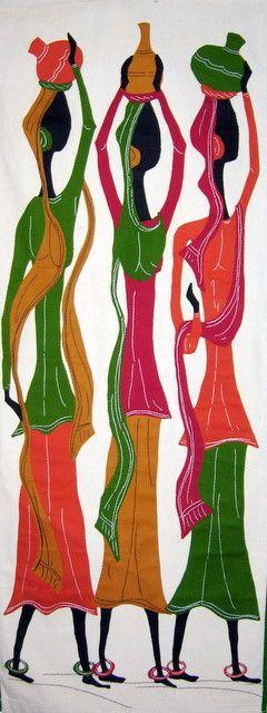 Three Sisters -India - Art