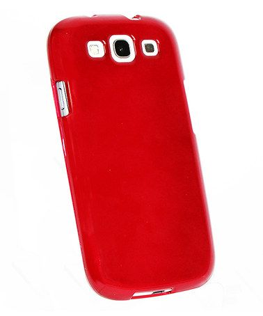 Take a look at this Red Candy Apple Phone Case for Samsung Galazy S3 by Atomic9 on #zulily today!
