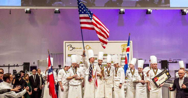 U. S. Team wins Bocuse d'Or