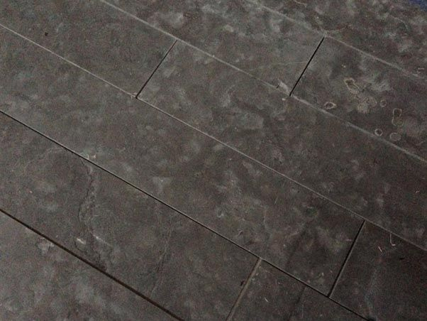 Image result for dark grey travertine