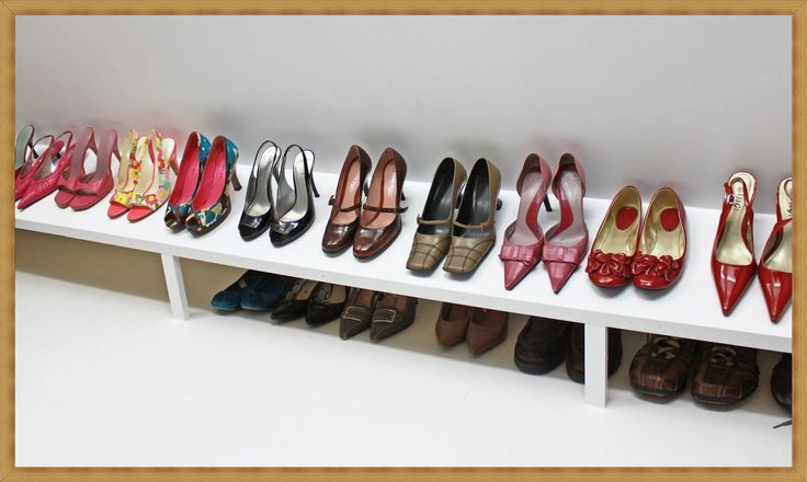 Shoe Racks For Closets - http://room.earthalimited.com/shoe-racks-for-closets/ : #ShoeRackIdeas Nothing is so essential at home and maintaining order. If you have boots, sandals, dress shoes, slippers scattered sports around the house or on an old piece of furniture that can not hold them all, requires a rack of shoes, it is the cabinet that is exactly what they are looking for –Shoe...