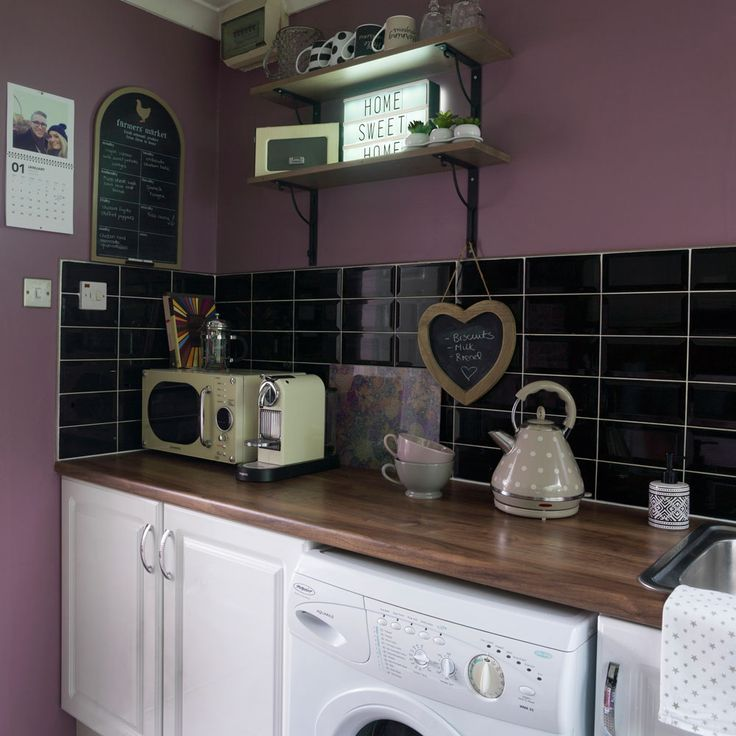 Our cosy Kitchen featured during our home tour on the Ideal Homes website @prettylittlepoppet