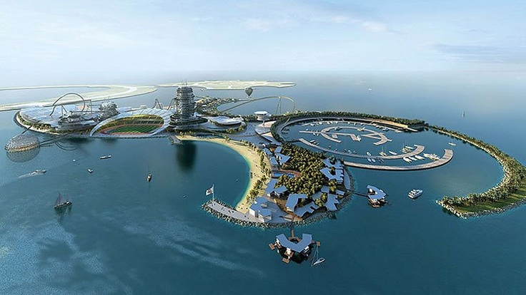 Real Madrid's holiday resort in the United Arab Emirates.  It opens in January 2015.Favorite Places, Madrid Resorts, The Real, Real Madrid, United Arabic, Amusement Parks, Resorts Islands, Madrid, Arabic Emirates