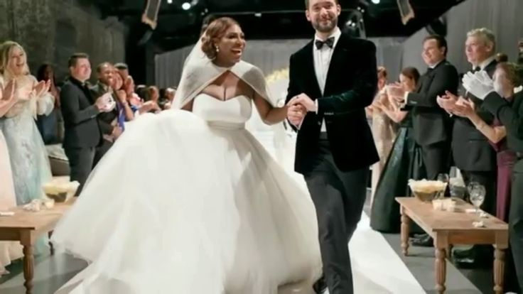 On Thursday, November 16, 2017, tennis superstar Serena Williams married Reddit founder Alexis Ohanian in a decadent star-studded wedding celebration in New Orleans. At the center of the event was the couple's two-month-old daughter Alexis Olympia Ohanian Jr. #love #wmbw #bwwm #swirl #wedding #lovingday #relationshipgoals