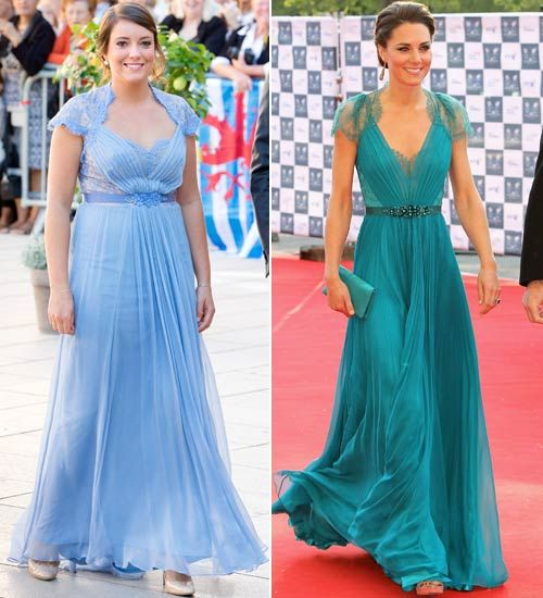 17 best images about l alexandra of luxembourg on for Knock off kate middleton wedding dress