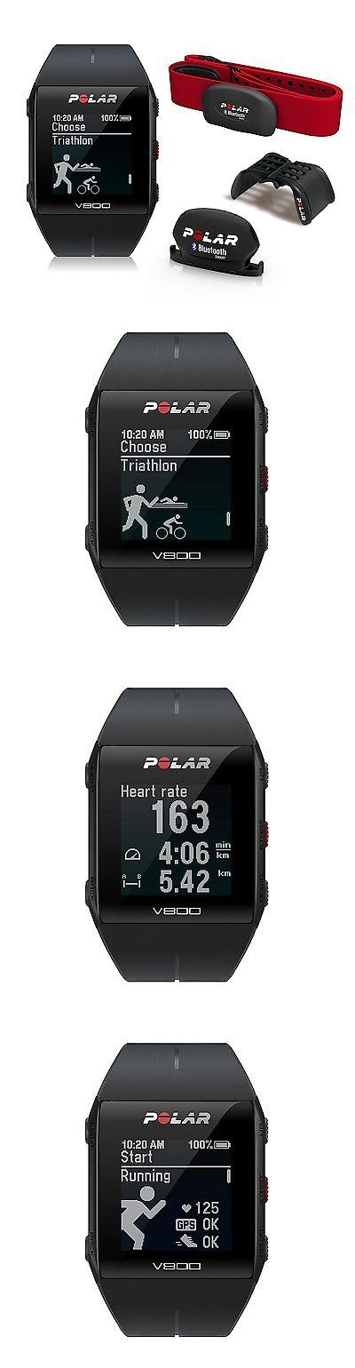 GPS and Running Watches 75230: Polar V800 Gps Sports Watch Special Edition With Heart Rate Monitor Black New -> BUY IT NOW ONLY: $664.12 on eBay!