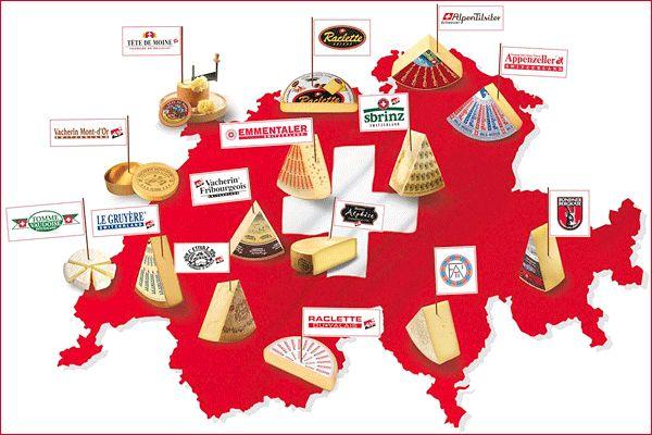 Die Schweiz – Wo Käsekunst zu Hause ist - LECKER.de