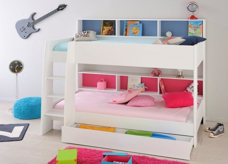 Parisot Tam Tam White Bunk Bed