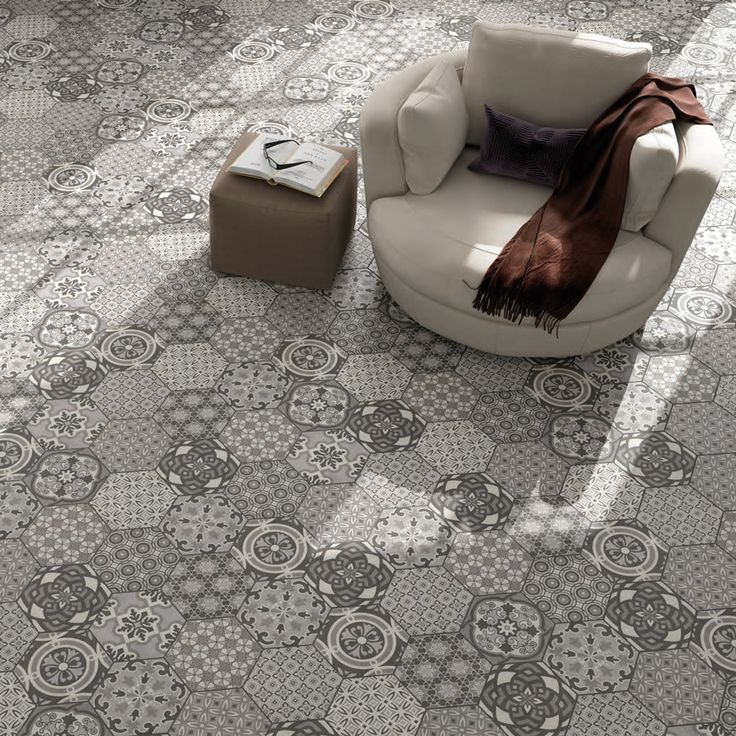 Las 25 mejores ideas sobre baldosas hexagonales en - Baldosas para terrazas exteriores ...