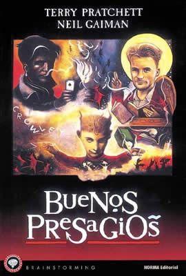 23/05/2014 BUENOS PRESAGIOS GOOD OMENS Neil Gaiman y Terry Pratcher  Que buen libro noventero!!!