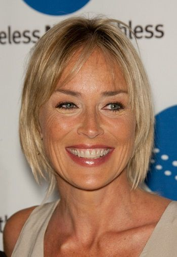 Sharon Stone Contemporary Bobs For Women Over 40 L Www