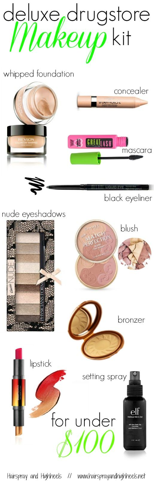 """Hairspray and High Heels: """"A Jersey Girl's Guide to Beauty"""": Best Drugstore Makeup Products"""