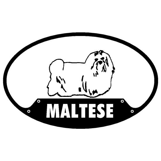 Maltese Sticker