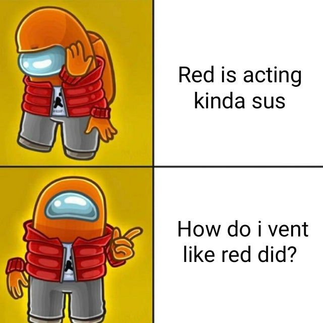Red Was Not An Impostor Amongus Funny Memes Memes Funny Video Memes