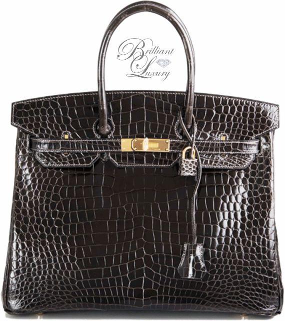 black and hermes brown bag - hermes graphite porosus crocodile 35cm birkin bag palladium ...
