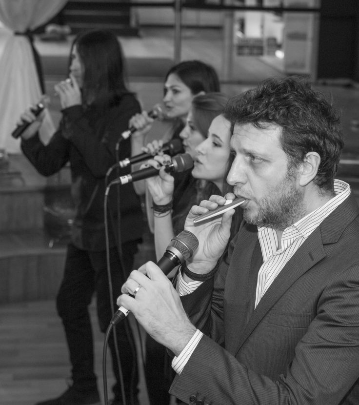Grand Opening Soiree - Și jazz. Și a cappella. Sau ritmul unei seri splendide: Jazzapella.