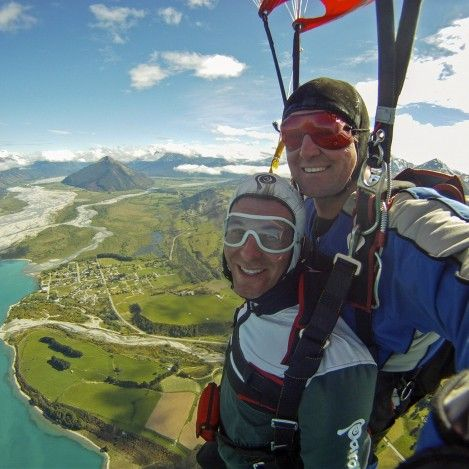 Skydive Paradise - yep it certainly is!