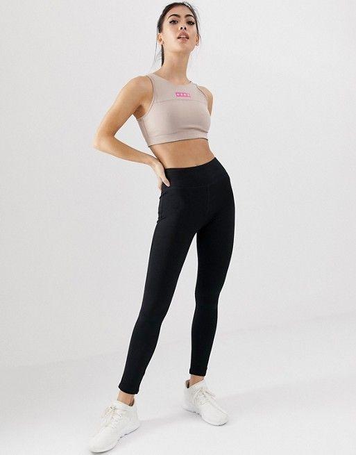 8c29f102913bfb ASOS 4505 Petite high waist sports legging with black spandex | ASOS