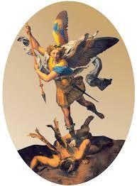"""L'arcangelo Michele Michele """"colui che è come Dio"""" o """"colui che assomiglia a Dio"""", è l'Arcangelo che libera il Pianeta e i suoi abitanti dagli effetti dell"""