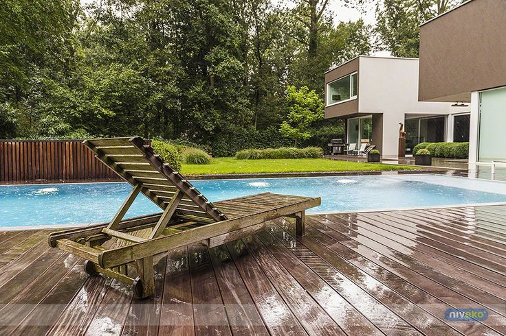 Rainy pool... niveko-pools.com #lifestyle #design #health #summer #relaxation #architecture #pooldesign #gardendesign #pool #swimmingpool #niveko #nivekopools