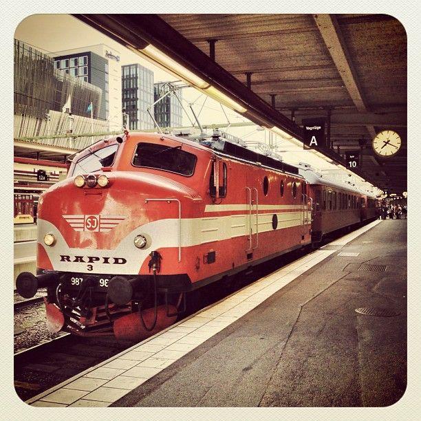PR Newswire-tåget. Musei-tåg från Nässjö! Till och från #sswc