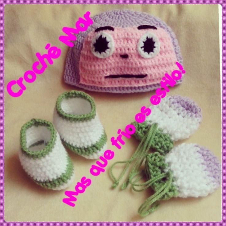 Conjunto de buzz por Croche Mar