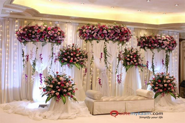 Stage Decoration For Wedding Simple Wedding Stage Decoration Ideas Wedding Stage Decorations Wedding Stage Design Wedding Hall Decorations