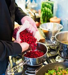 Lingonberries. Photo: Juho Kuva/Visit Finland