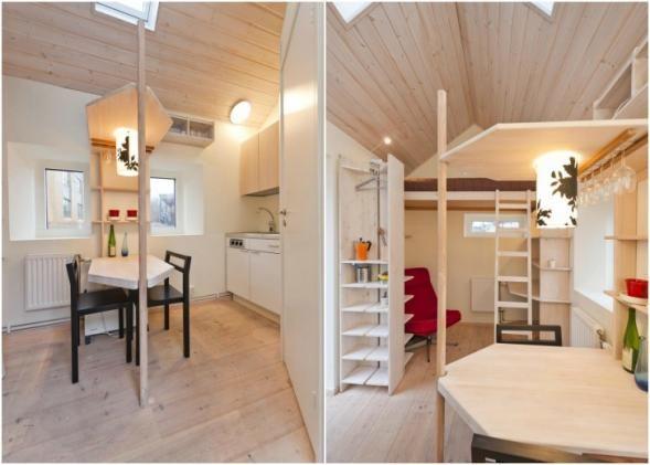 Kategorie: Drobné stavby, Rodinné domy   Klíčová slova: Architektura, Malý rodinný dům, Moderní rodinný dům, Švédsko
