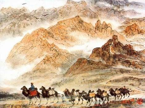 The Birth of Silk Road - China culture