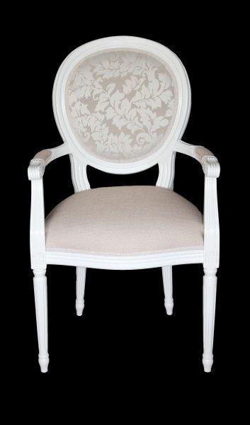 Casa Padrino Barock Esszimmer Stuhl Mit Armlehne Creme / Weiß   Designer  Stuhl   Luxus Qualität | Tops | Pinterest | Stuhl Mit Armlehne, Designer  Stuhl Und ...